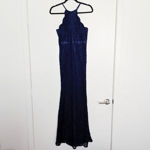 LuLu's || Blue Prom Dress